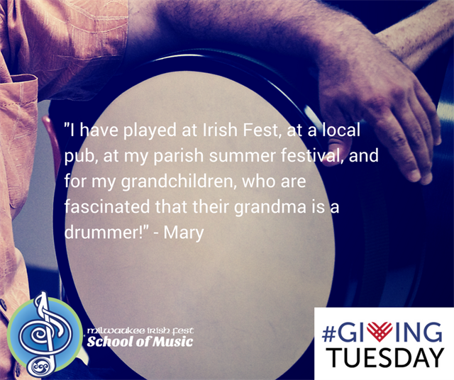 #GivingTuesday - Irish Fest School of Music